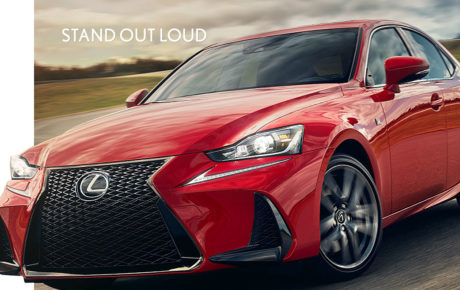 THE KEY FEATURES OF THE 2017 LEXUS IS